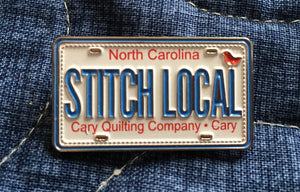 Row by Row Pin: STITCH LOCAL