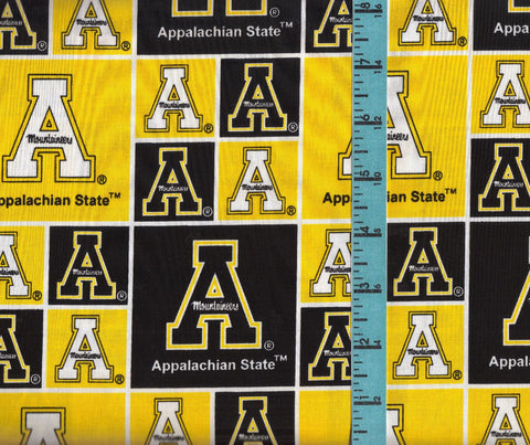 College Prints - Appalachian State Squares - APPST-020