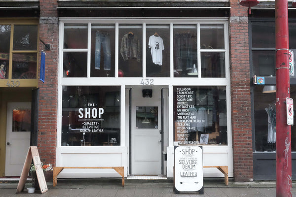 The Shop Vancouver Mens Selvedge Denim Clothing Store