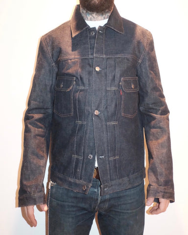 TCB 50s type 2 style jacket unsanforized Japanese Selvedge denim
