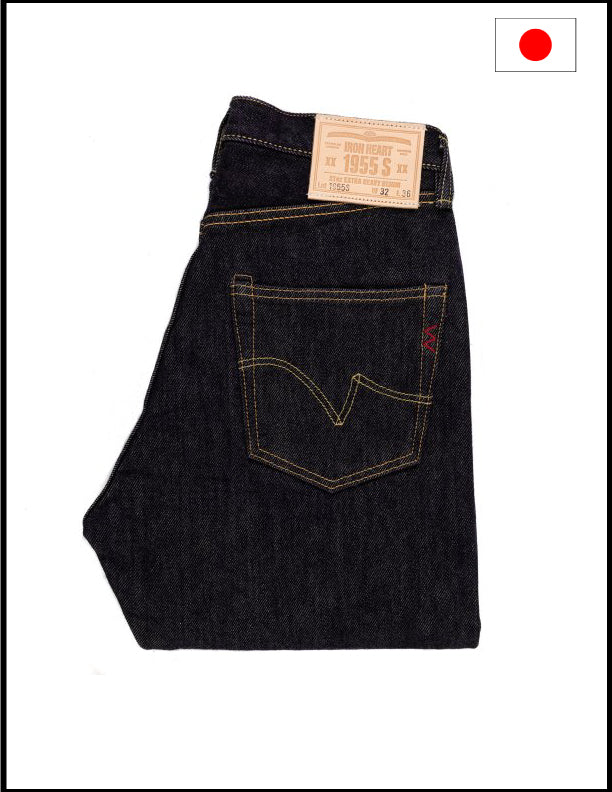 Iron Heart IH-1955S 21oz Japanese Selvedge Denim Jeans