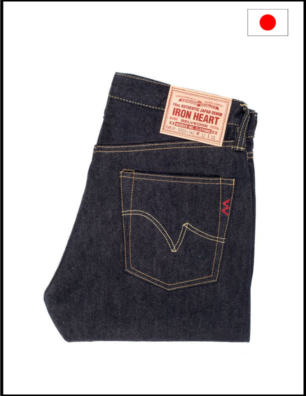 Iron Heart IH-555-142 14oz Selvedge Denim Super Slim Cut Jeans
