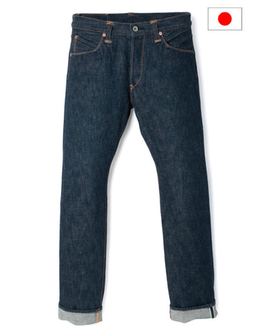 Stevenson Overall Co. 727 La Jolla Slim Straight Taper Rigid Japanese Selvedge Denim Jeans