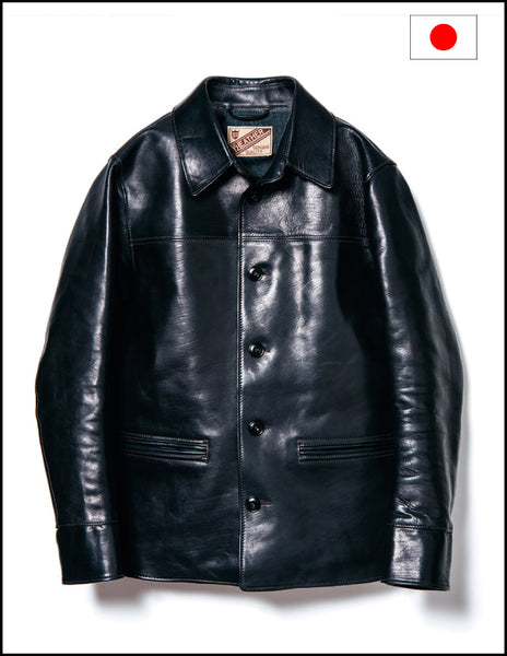 Y'2 Leather EC-76 30s ECO HORSE CAR COAT