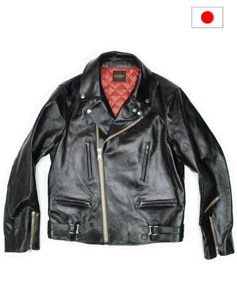 Fine Creek Leathers The Shop Vancouver Horsehide Leather Jacket Motorcycle Coat