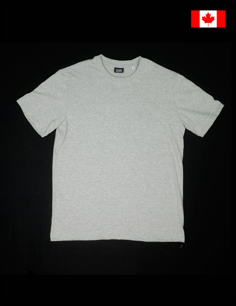 The Shop Vancouver Organic Cotton T shirt Heather Grey