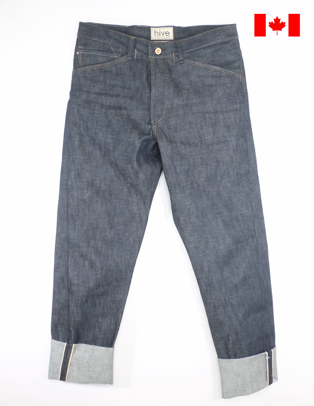 Hive Denim Gaucho 002 15oz Sanforized Japanese Selvedge Denim Jeans
