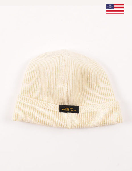Dehen 1920 Wool Knit Watch Cap Off White