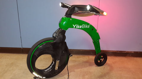Used Yikebike Fusion Color Green