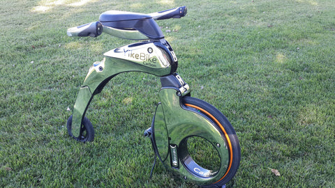 YikeBike Carbon SILVER (Used)