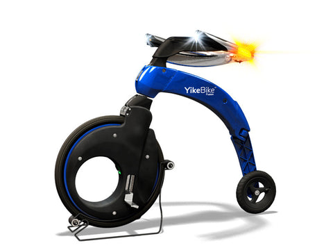 YikeBike Fusion Entire BLUE (Body and Rim)