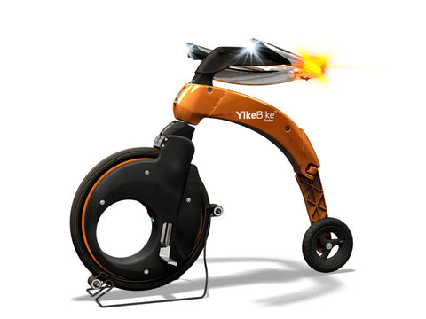 YikeBike Fusion Entire ORANGE (Body and Rim)