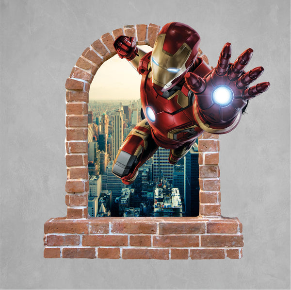 Brick Wall decals which are great for the children's room decals and stickers.