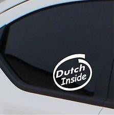 Nationality car stickers (decals)