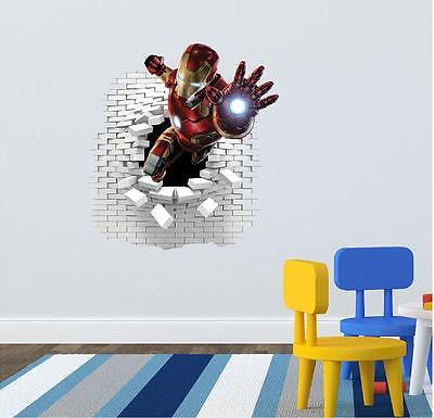 Iron Man wall stickers ansd decals. - Art & Text