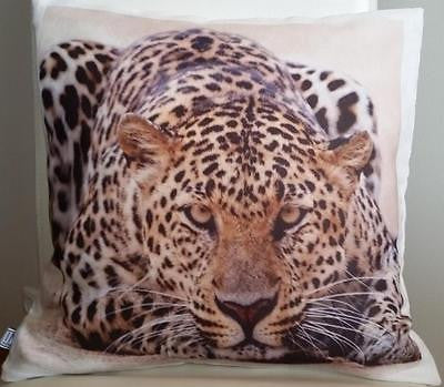 Leopard  pillow cover very soft material washable FILLING NOT INCLUDED - Art & Text