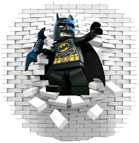 Batman Lego 2 Wall stickers ans decals. - Art & Text