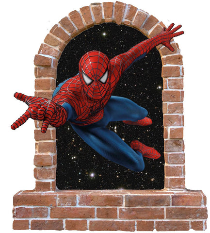 Spiderman wall stickers (decal) - Art & Text