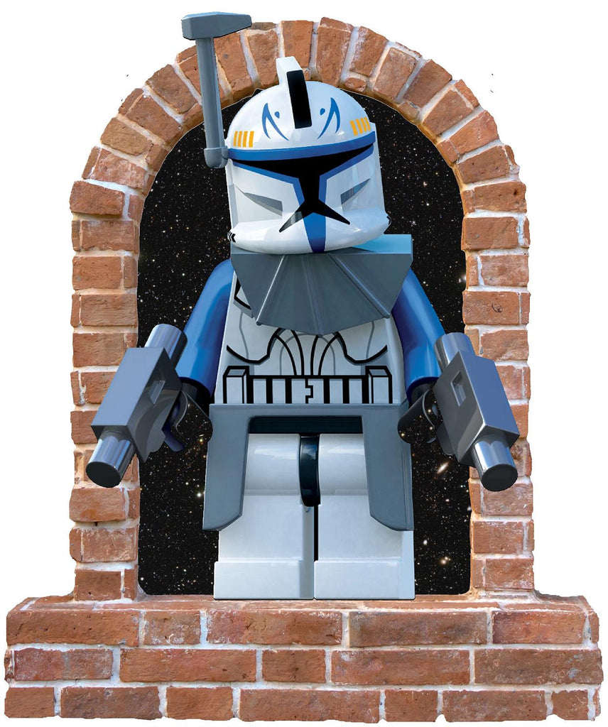 Brick Lego Stormtrooper wall Stickers and Decals - Art & Text