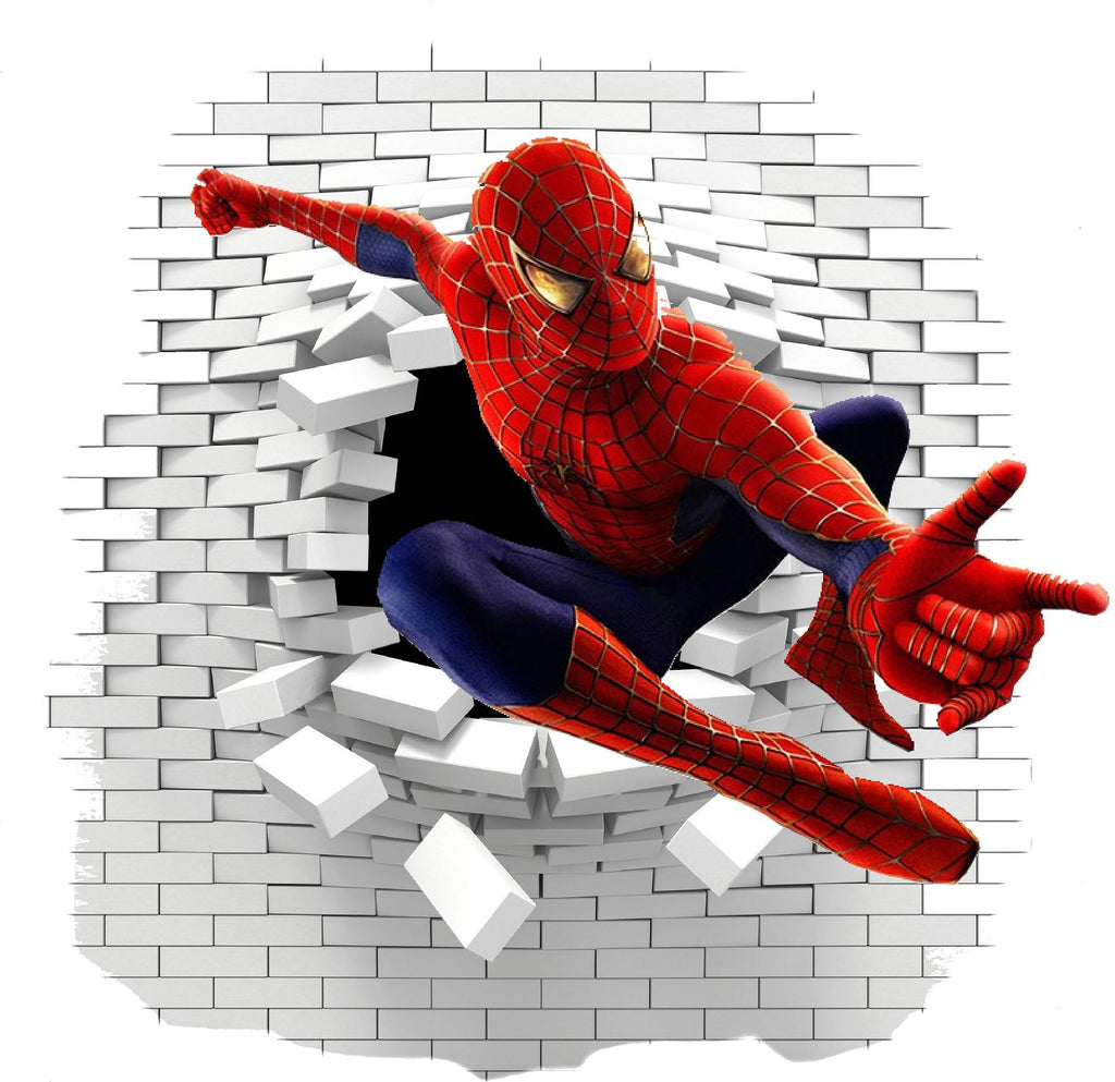 Spiderman wall sticker and decals. - Art & Text