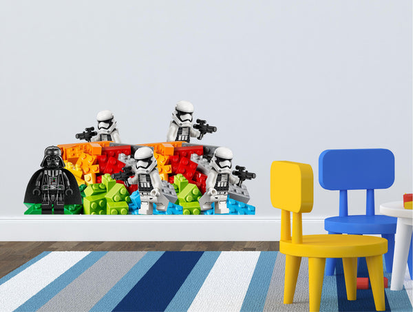 Kids wall decal (stickers) stormtrooper... - Art & Text