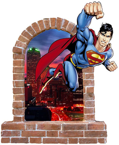Superman wall stickers and Decals. - Art & Text