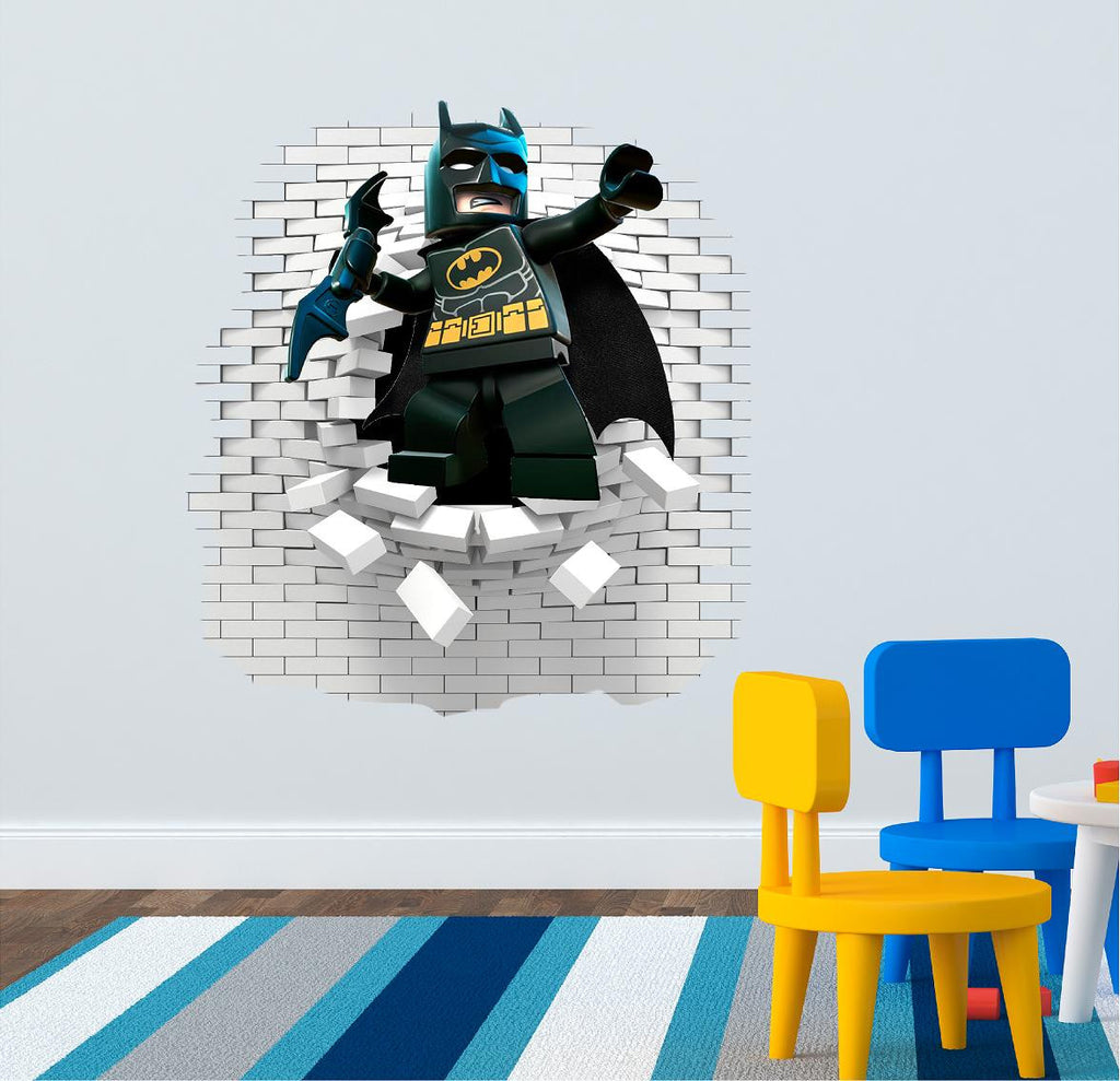 Batman wall sticker 63 x 58 cm. - Art & Text