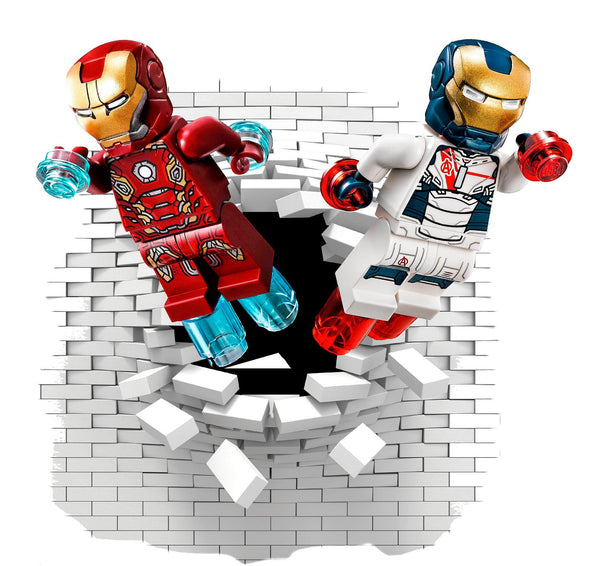 Iron man wall decals and stickers. - Art & Text