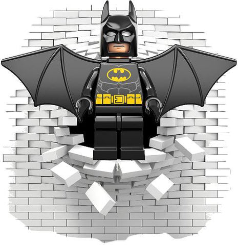 Batman wall decal (sticker) - Art & Text