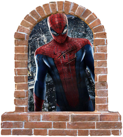 Spiderman wall stickers (decal) The boys love this one. - Art & Text