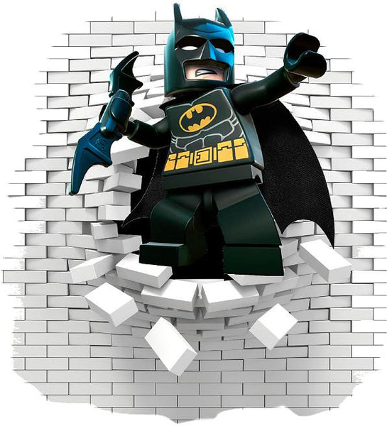 Batman wall sticker (decals) - Art & Text
