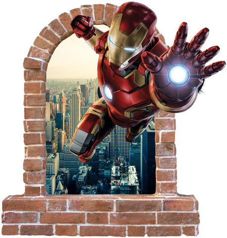 Iron man wall stickers and decals... - Art & Text
