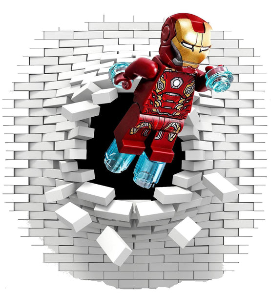 Iron man wall decal (sticker) - Art & Text