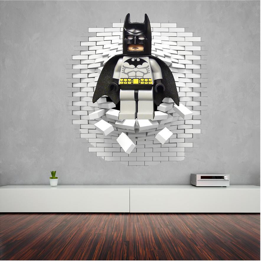 Superb Lego Batman Wall Stickers And Decals.