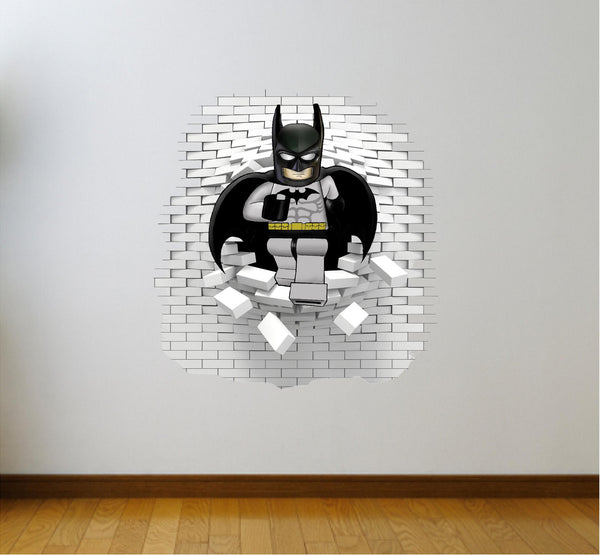 Batman wall decal (sticker) great for the kids 65 x 65 cm. - Art & Text