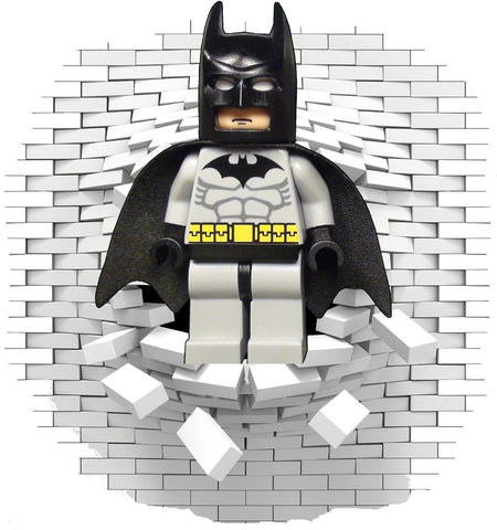 Lego Batman wall stickers (decal) - Art & Text