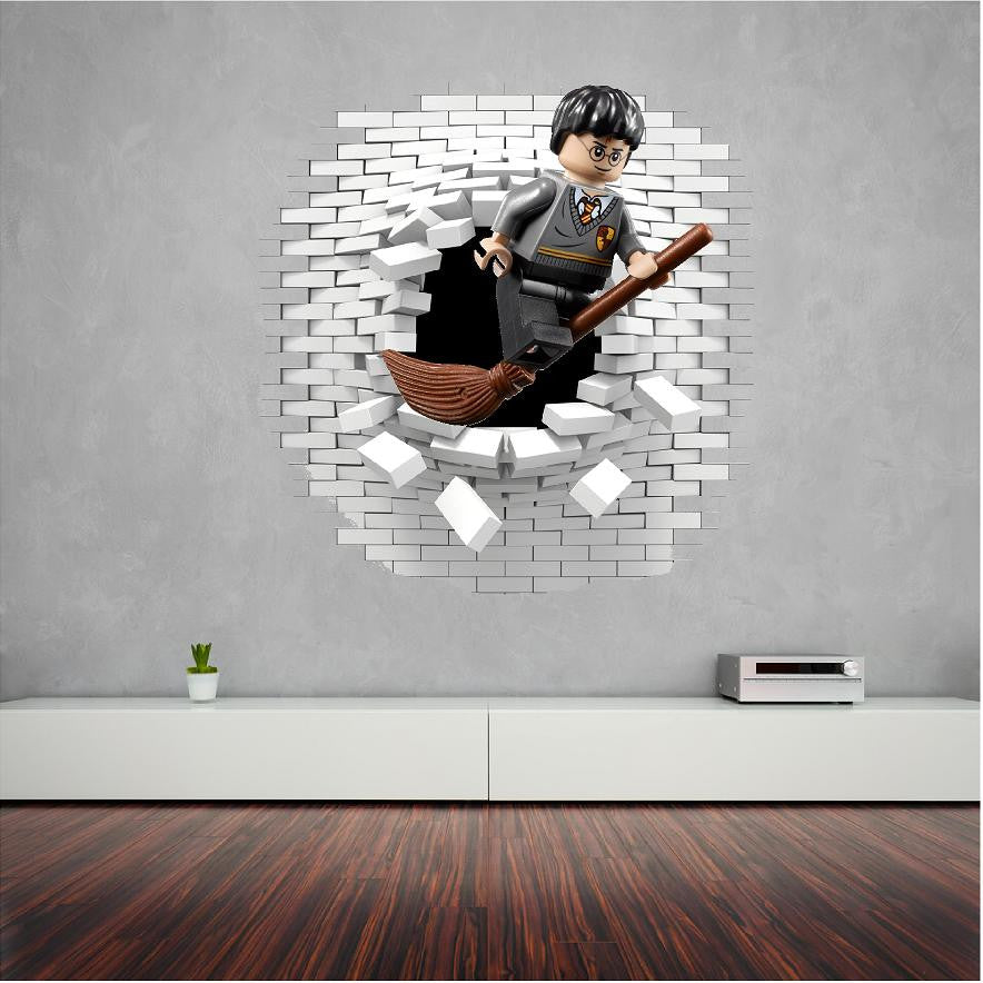 Wonderful Art U0026 Text; Harry Potter Wall Decal And Stickers Great For The Kids.
