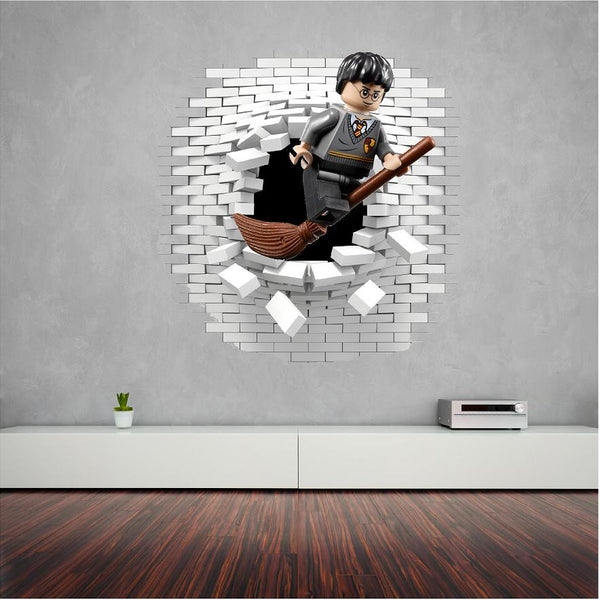 Harry Potter wall decal and stickers great for the kids. - Art & Text