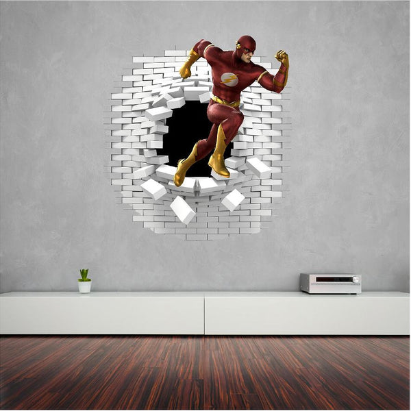 Flash wall sticker and decals. - Art & Text