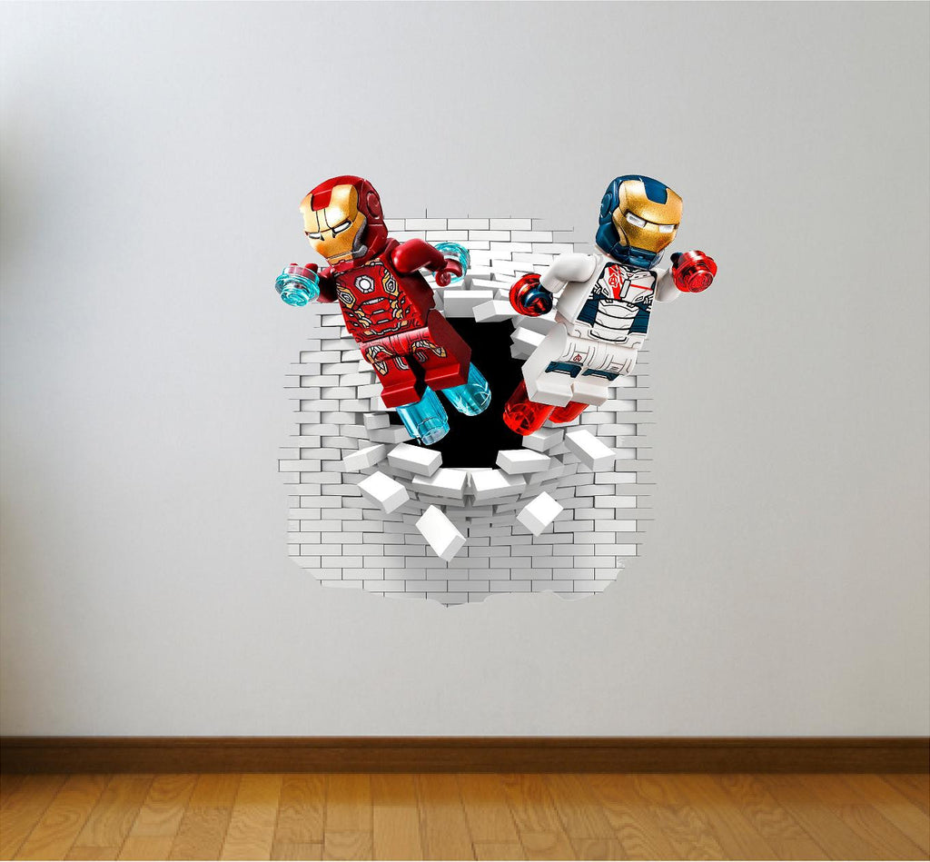 Art u0026 Text · Iron man wall decals and stickers.  sc 1 st  Art og Text & Iron man wall decals and stickers. u2013 Art og Text