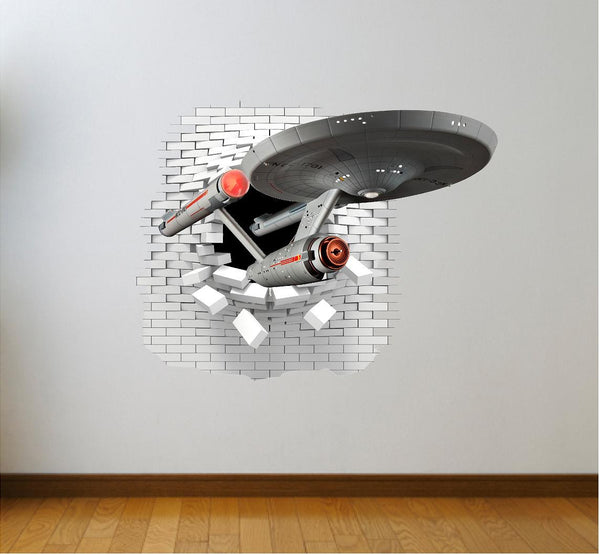 Star Trek wall sticker and stickers. - Art & Text