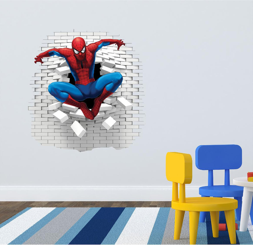 Spiderman wall decal and stickers. - Art & Text