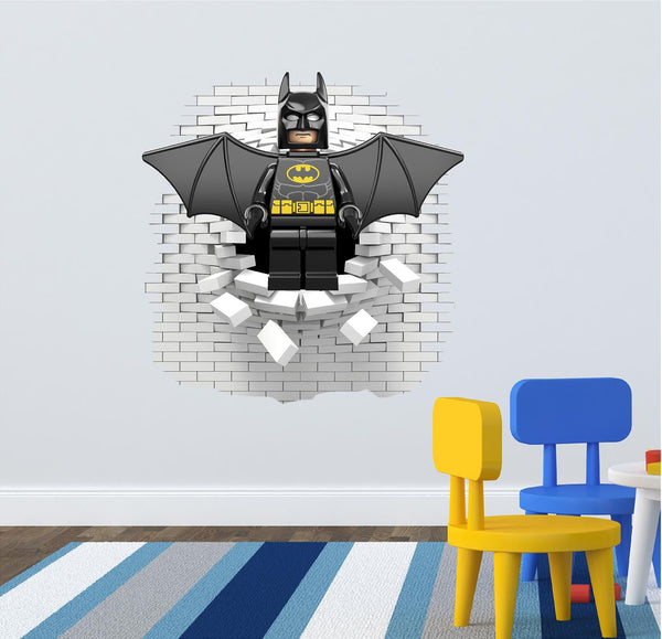Batman wall decal 62 x 60 cm. - Art & Text