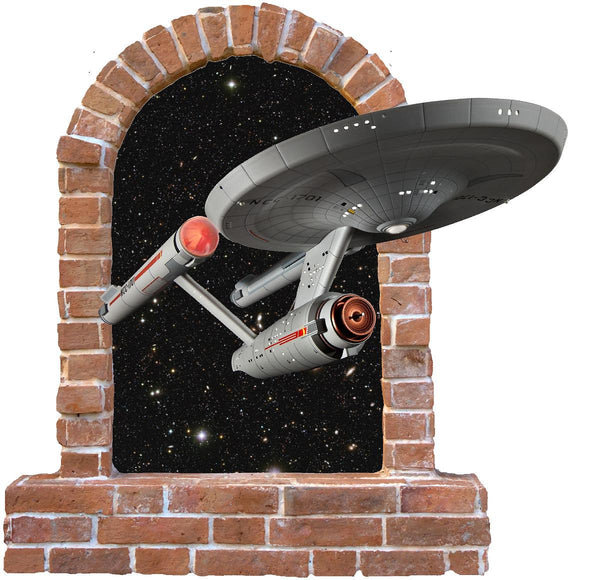 Star Trek Enterprise wall Sticker and Decals - Art & Text