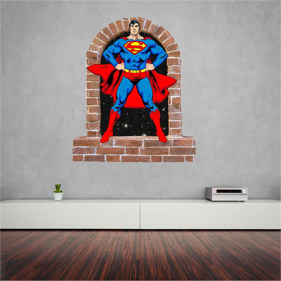 Art U0026 Text; Superman Wall Decal And Stickers.