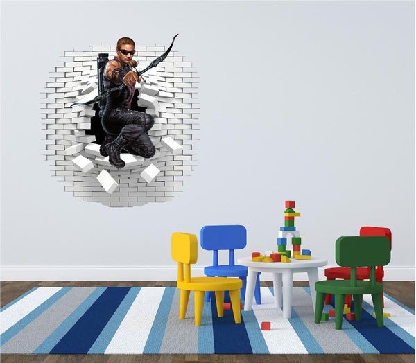 Hawkeye wall sticker and decals. - Art & Text