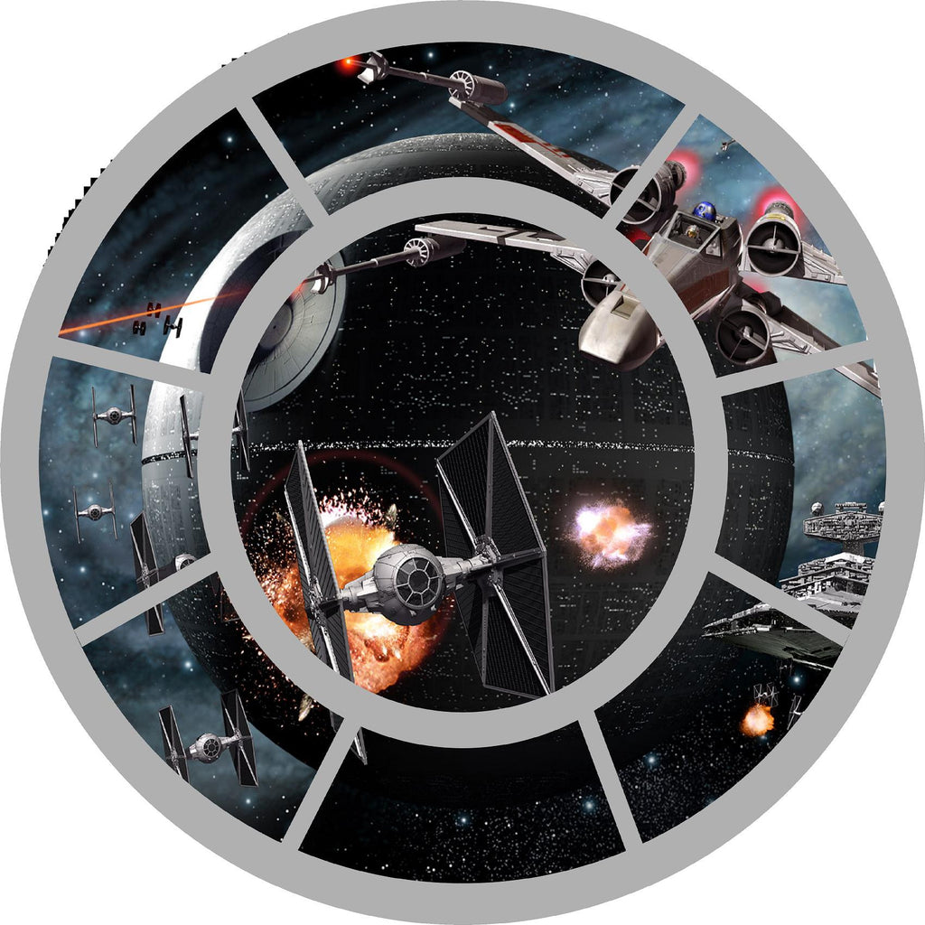 Star wars Tie fighter window Wall decal (stickers) - Art & Text