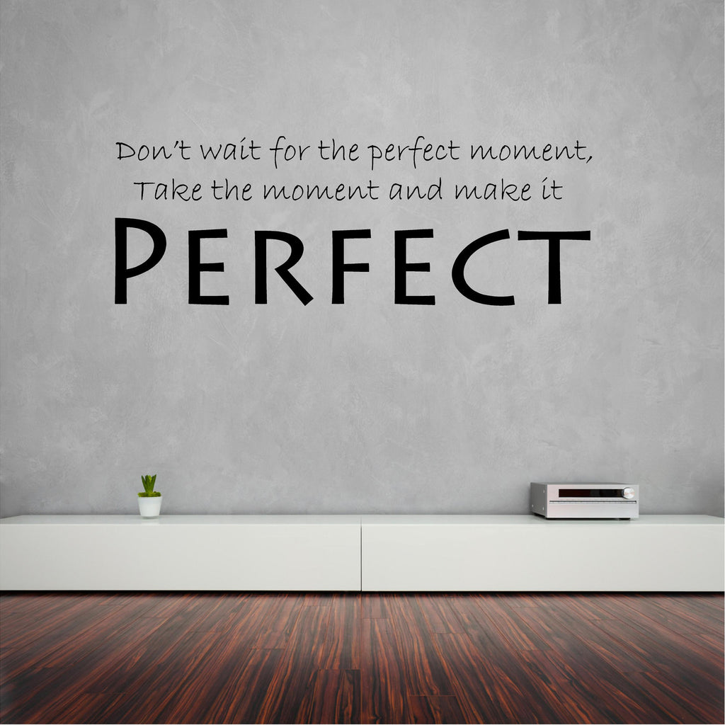 Wall sticker (decal) Perfect 98 x 35 cm - Art & Text