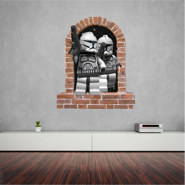 Lego Stormtrooper wall decal and  stickers... - Art & Text