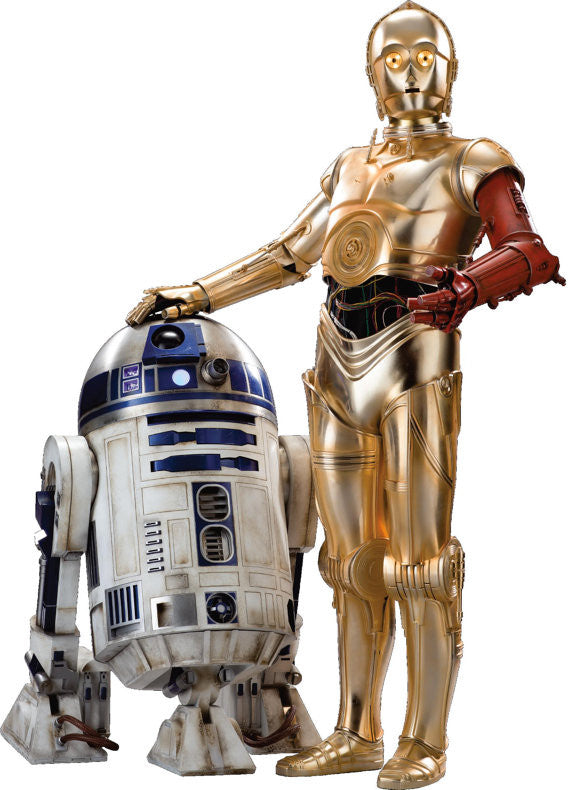 Star Wars R2D2 and C3PO Wall decal and stickers. - Art & Text